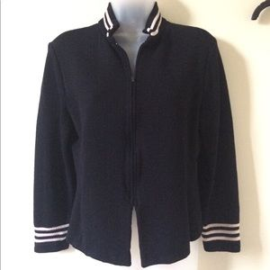 St. John collection knit blazer, fits 4-6